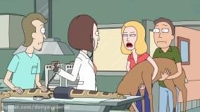 دانلود انیمیشن سریالی ریک و مورتی Rick and Morty فصل 2 قسمت 1 زیرنویس فارسی
