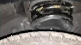 رفع کوبش دنا پلاس با ضربه گیر برسام یدک