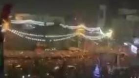 شادی مردم عراق پس از برد ایران