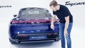 اولین رونمایی از پورشه Taycan توربو در Top Gear 2019