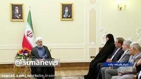 روحانی:  نگذاشتیم بنزین ۵هزار تومان شود/گرانی بنزین به نفع مردم است
