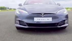 Tesla Model S P100D vs Merc-AMG E63 S | Drag Races | Top Gear
