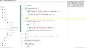 جلسه ی 8 دوره ی آموزش پروژه محور Vue.js با لاراول برای ساخت سایت تک صفحه ای