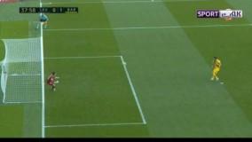 خلاصه بازی لوانته 3-1 بارسلونا