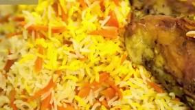 هویج پلو | فیلم آشپزی