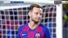 خلاصه بازی بارسلونا 0-0 اسلاویا پراگ