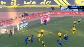 خلاصه بازی سپاهان 2-2 استقلال