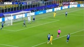 خلاصه بازی اینترمیلان 1-2 بارسلونا