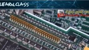استخراج طلا از قطعات کامپیوتر های قدیمی