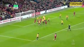 خلاصه بازی لیورپول 1-0 وولورهمپتون (لیگ برتر انگلیس - 2019/20)