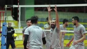 تمرین تیم ملی والیبال ایران برای رقابتهای انتخابی المپیک