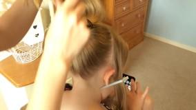آموزش شینیون - آموزش آرایش مو - زیبایی سنتر
