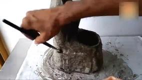 ساخت آبنما موزیکال با استفاده از بطری نوشابه