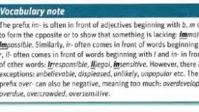 لغات ضروری آیلتس