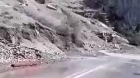 جاده چالوس . سیل .ریزش کوه . شمال