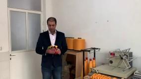 تولید نخ اکریلیک فرش ماشینی