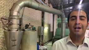 آب و روغن زنی به الیاف نخ اکریلیک فرش ماشینی