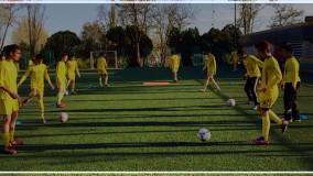 تکنیک های هماهنگی بدن با پا در تمرینات فوتبال