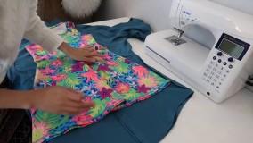 ترفند های لباس دخترانه-ترفند دخترانه برای لباس-371