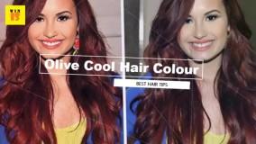 رنگ مو برای پوست های سبزه؟