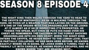 قسمت چهارم فصل هشتم گیم اف ترونز-لینک لیست پخش فصل 8 در توضیحات زیر ویدیو-19