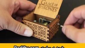 موزیک باکس گیم اف ترونز - موزیک باکس گیم آو ترونز - موزیک باکس game of thrones - خرید موزیک باکس گیم اف ترونز