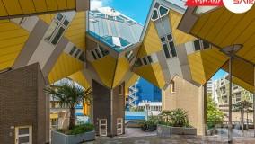 خانه های مکعبی هلند - تعیین وقت سفارت هلند با ویزاسیر
