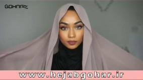 4 مدل بستن شال روی سر - تولیدی حجاب گوهر