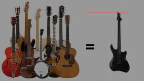 موسیقی شاد با گیتار