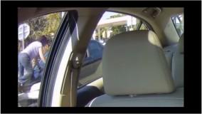 دعوای عجیب دو راننده زن بعد از تصادف در شهر شهر فورت لادردیل فلوریدا آمریکا