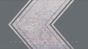 شستشوی فرش عتیقه موزه با برند عمل حاج عبدل ( زمینه بژ) توسط کارخانه قالیشویی ادیب