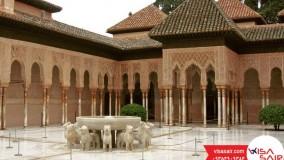 کاخ های نسری - Nasrid Palaces - تعیین وقت سفارت ویزاسیر