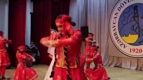 آموزش رقص و موسیقی آذربایجانی موسسه بین المللی سامان علوی
