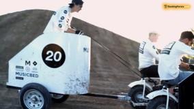 """مسابقات موتور سواری با گاری بانوان """"عجیب ترین ورزش های جهان"""" - بوکینگ پرشیا"""