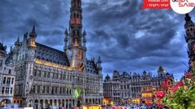 ساختمان TOWN HALL بلژیک - Brussels Town Hall -  تعیین وقت سفارت ویزاسیر