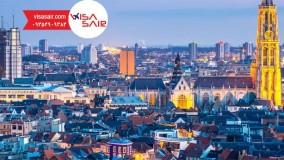 آنتروپ بلژیک - Antwerp -  تعیین وقت سفارت ویزاسیر