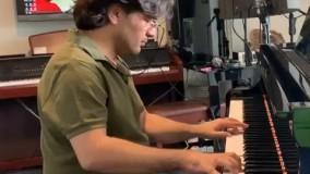 پیانو نوازی سامان احتشامی