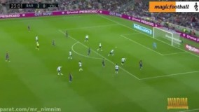 خلاصه بازی بارسلونا 5 - 2 والنسیا(لالیگا اسپانیا)