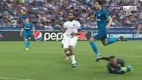 آزمون زننده اولین گل لیگ قهرمانان در فصل 2020-2019