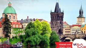 پل چارلز جمهوری چک Charlrs Bridge - تعیین وقت سفارت چک با ویزاسیر