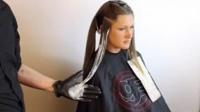 فیلم آموزش آمبره کردن مو + جدیدترین روش های رنگ مو