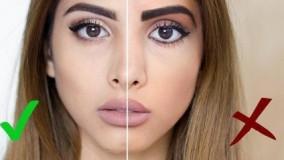 کلیپ آموزش نکات ریز اما مهم آرایش صورت + میکاپ دخترانه