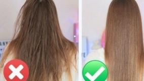 کلیپ درمان موهای خشک و آسیب دیده + ماسک لیمو و نارگیل