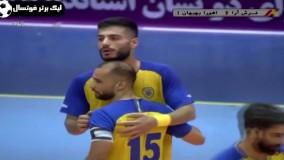 آخرین اخبار ورزشی-خلاصه فوتسال فرش آرا 6 - اهورا بهبهان 4