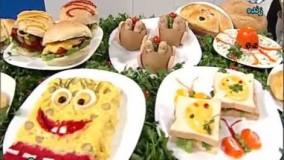 اشپزی خانم گلاور-خانم گلاور همبرگر