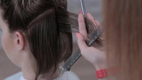 فیلم آموزش کوتاه کردن مو + مدل موی کوتاه