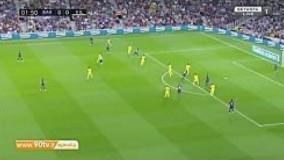خلاصه لالیگا: بارسلونا 2-1 ویارئال