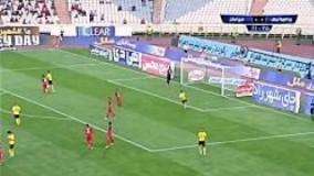 خلاصه بازی پرسپولیس 0-2 سپاهان