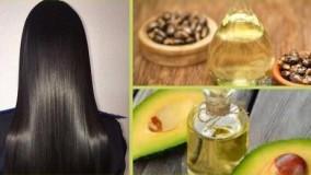 کلیپ تقویت مو با روغن کرچک و آووکادو + ماسک مو