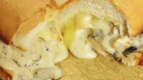 ساندویچ کاربنای مرغ   فیلم آشپزی